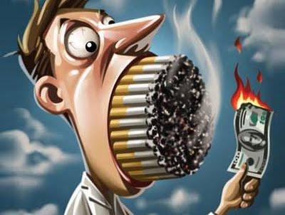 Se deixado fumando como semana é bom