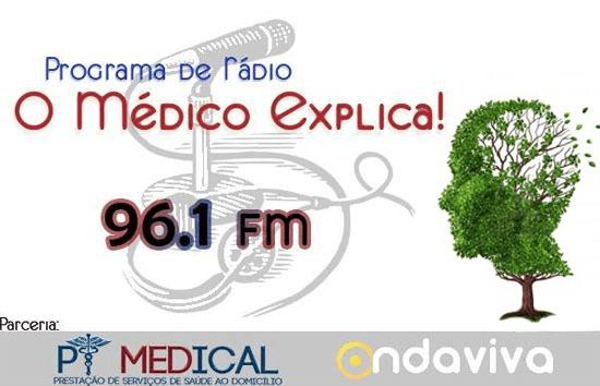 Programa de Rádio – O Médico Explica – Ep. 01 – Doença de Alzheimer